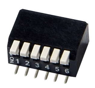 SMT Half Pitch Piano Type DIP Switches